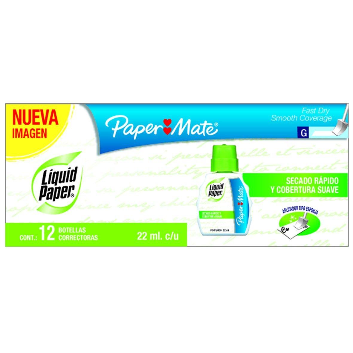 Amazon: Caja de 12 correctores Paper Mate a $35.15