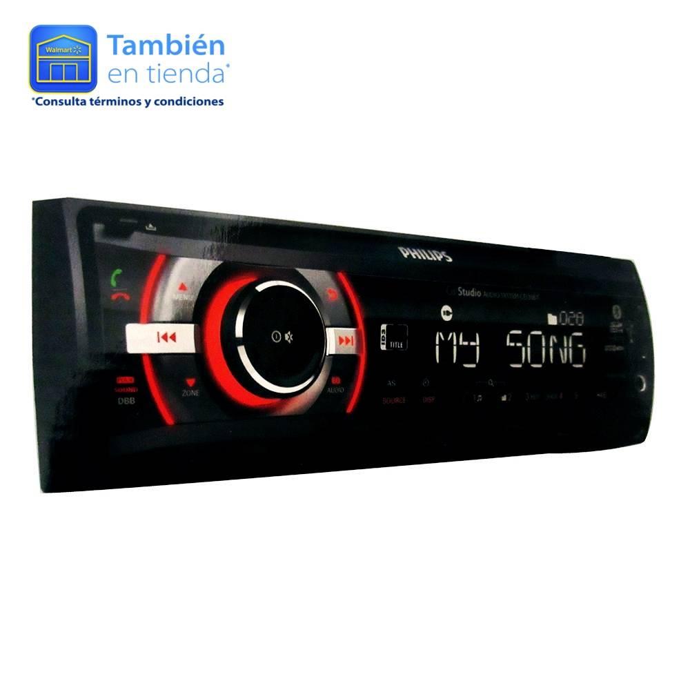 Walmart: autoestéreo Philips modelo CE135BT Bluetooth $999 (precio normal) tienda física y online