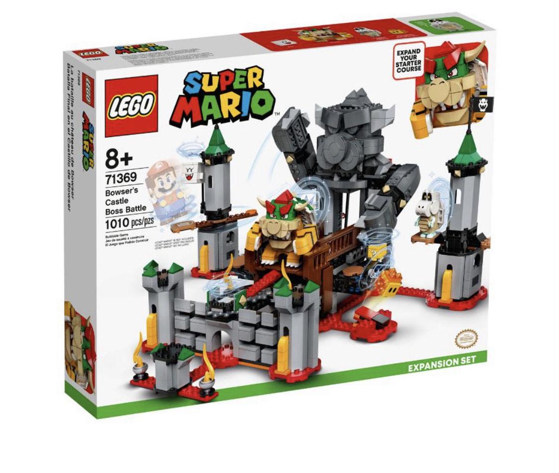 Liverpool: Castillo de Bowser Lego Super Mario