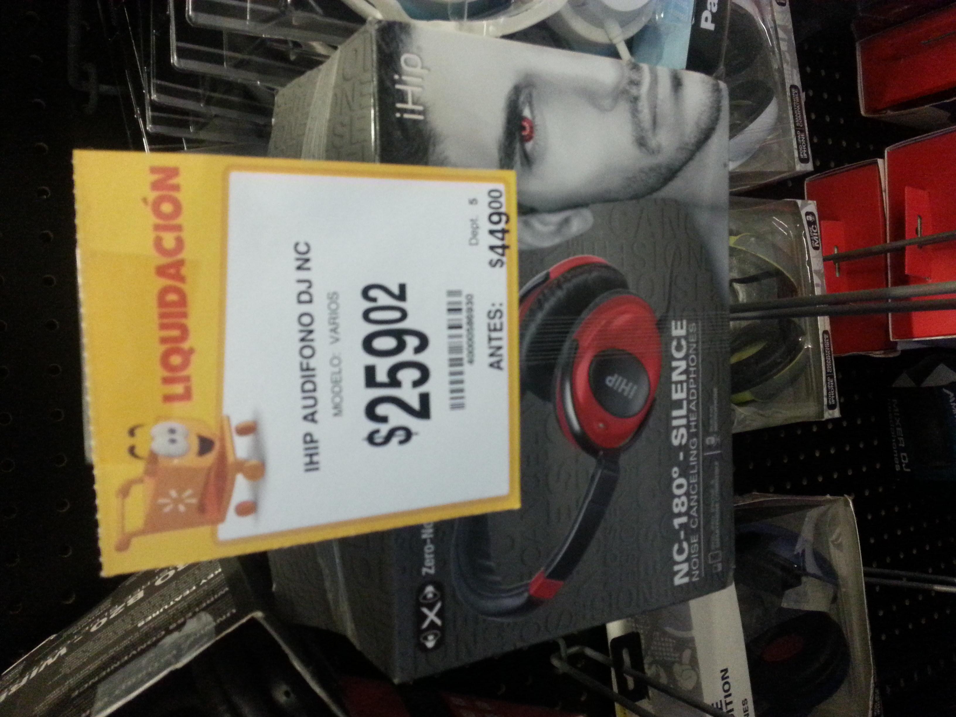Walmart La Isla Culiacan Sinaloa: Audifonos DJNL a $259.02