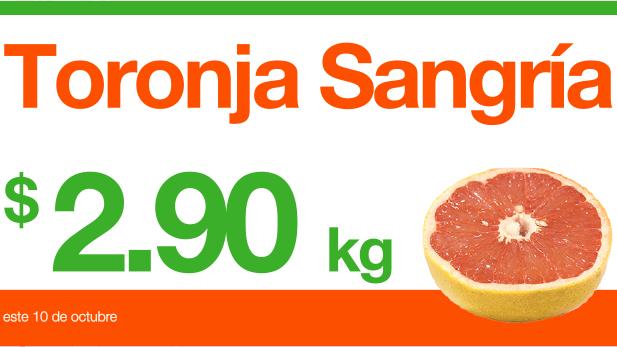 Miércoles de Plaza en La Comer octubre 10: toronja $2.90, lechuga $5.90 y más