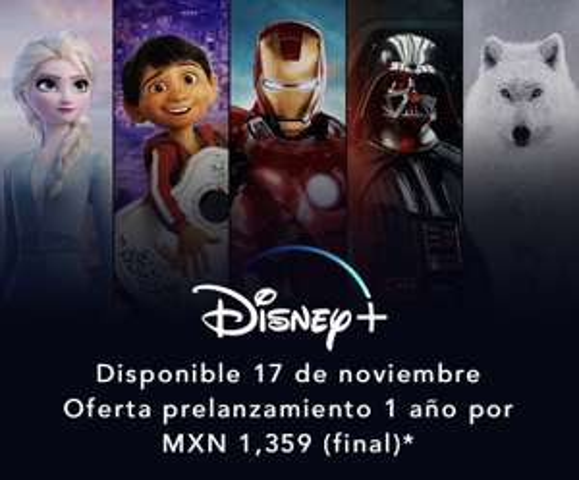 Disney + Oferta Prelanzamiento (Anual)