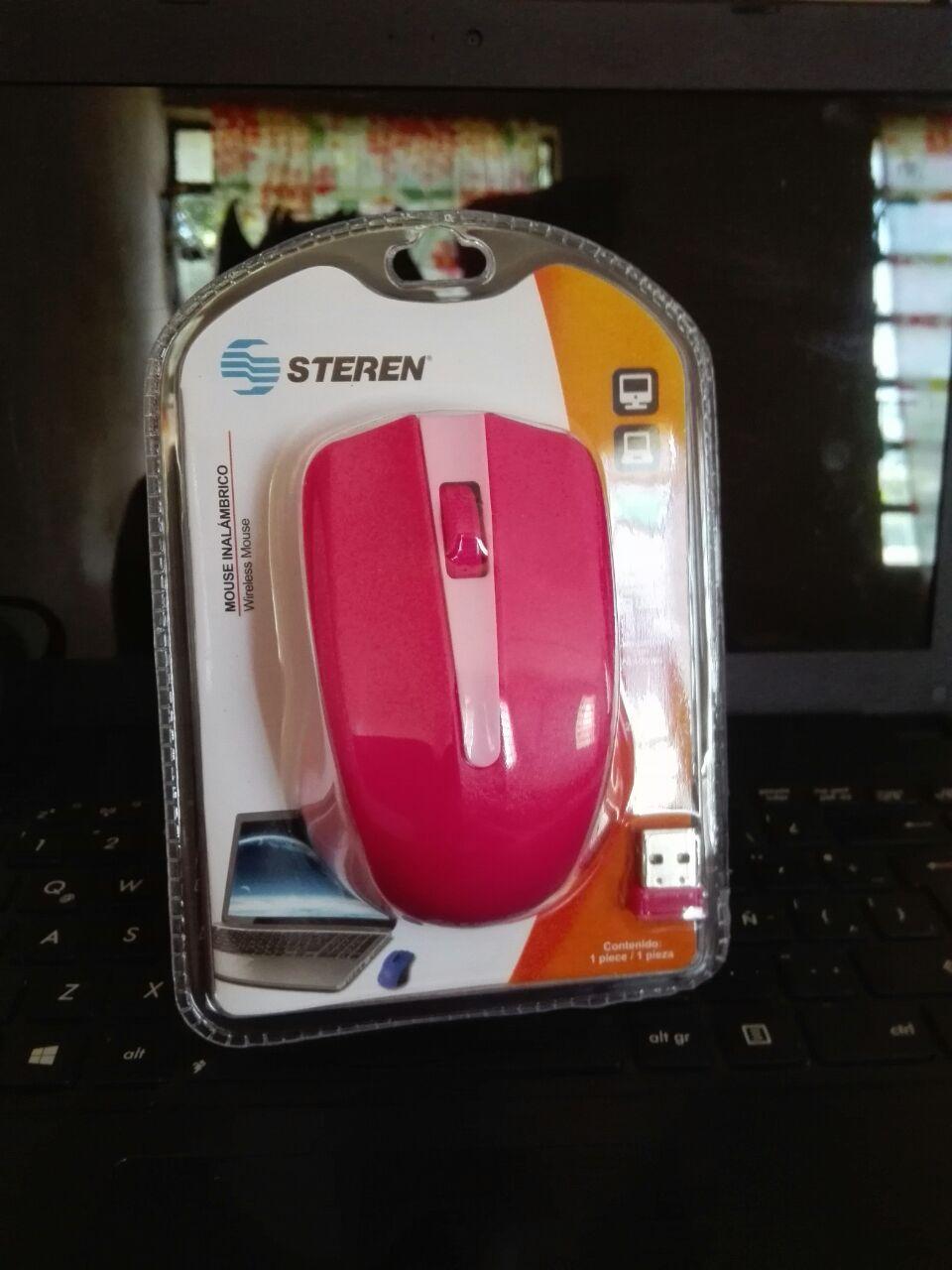 Bodega Aurrera: Mouse inalámbrico Steren a $98