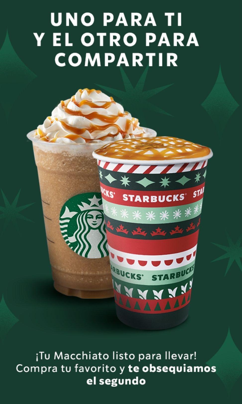 Starbucks: 2x1 en Machiatto