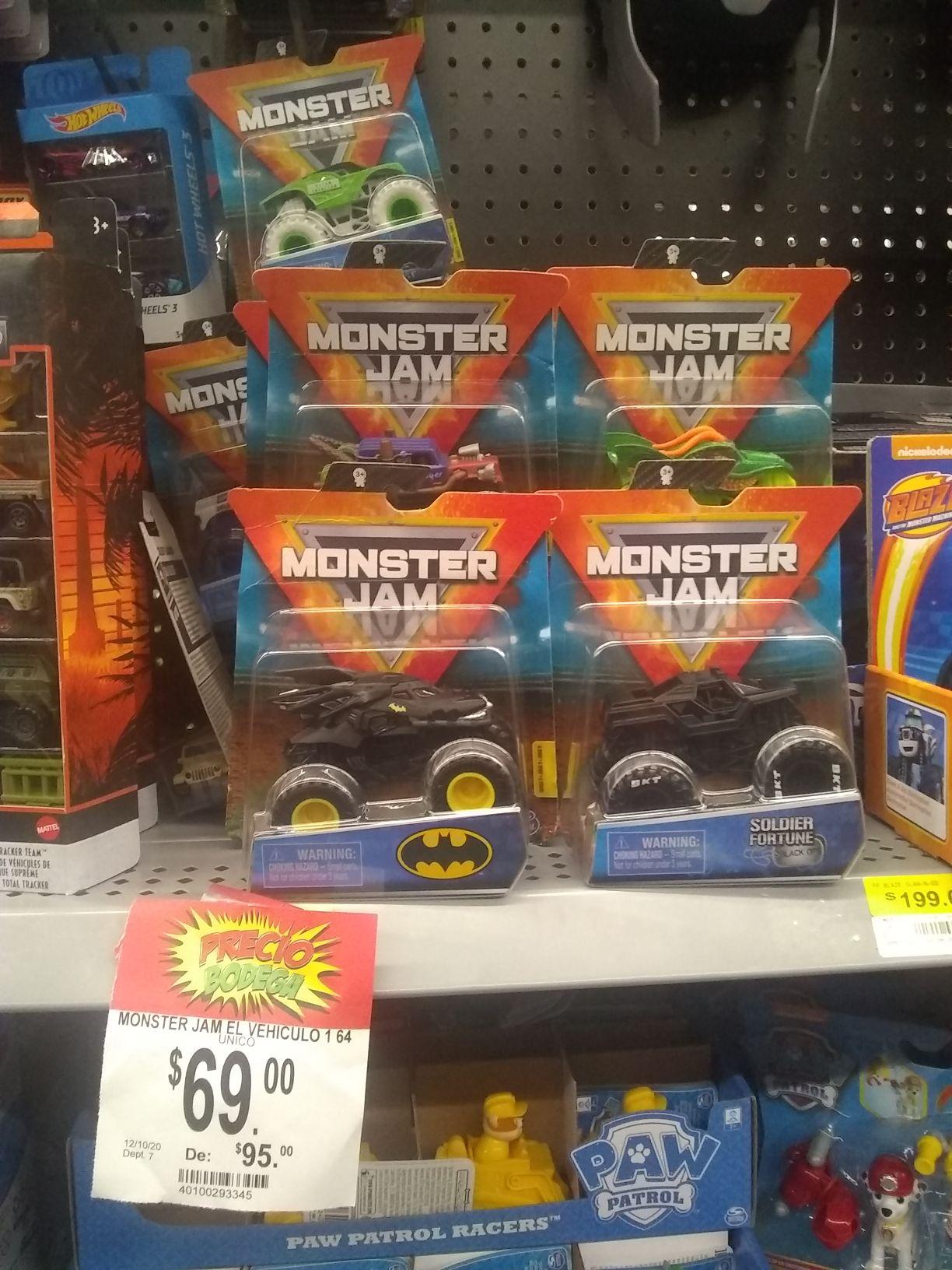 Bodega Aurrerá: Monster Jam Batman