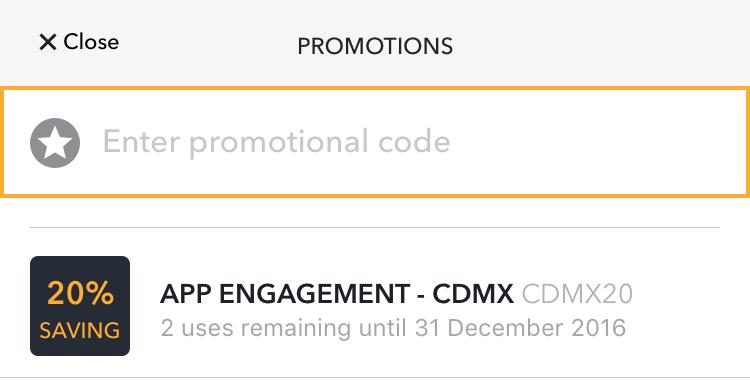 Cabify 20% de descuento 2 viajes hasta el 31 de diciembre 2016