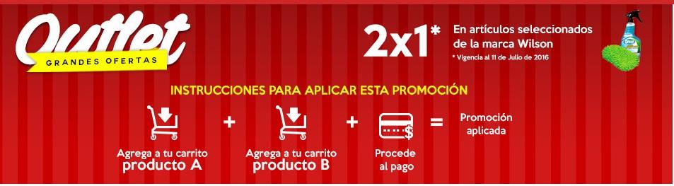 Soriana en línea: productos seleccionados Wilson al 2x1