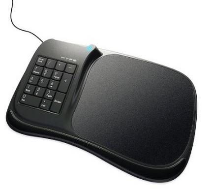 Amazon: Mousepad Combo con Teclado Numérico y 3 puertos USB Hype HY-8001-KMP