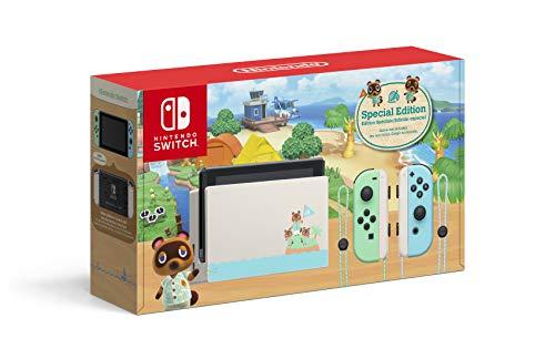 Amazon, Walmart y Aurrera: Consola Nintendo Switch 1.1 Animal Crossing, (Sam's a $8,796 incluye juego)