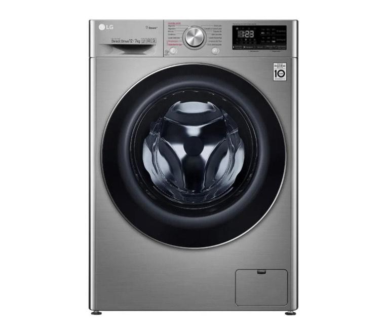 Walmart: Lavasecadora LG 12 Kg Silver (18 MSI BBVA)