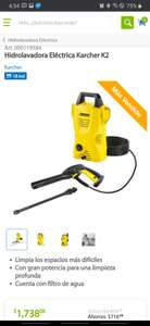 Sam's Club: Hidrolavadora Karcher K2