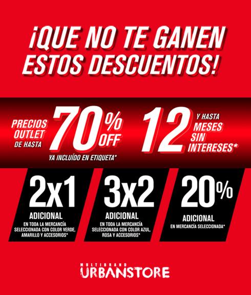 Urban Store: Ofertas Prebuen Fin pagando con Tarjetas Santander