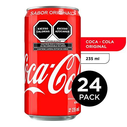 Amazon: Coca-Cola Original, 24 Pack - 235 ml/lata