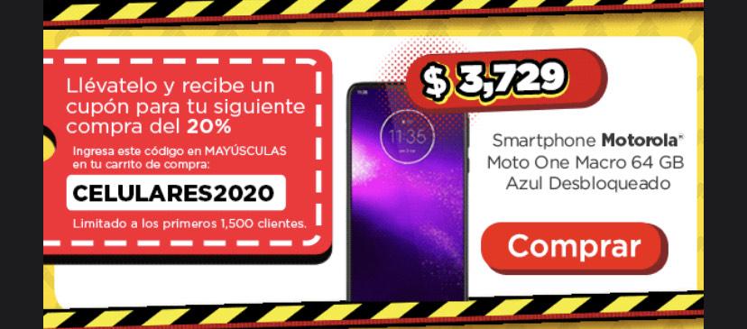 Bodega Aurrera: 20% de descuento en la segunda compra en celulares!