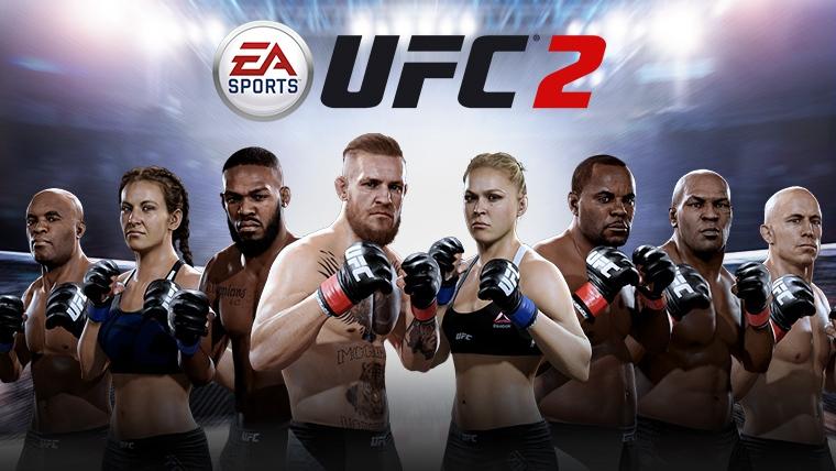 Xbox One y Play 4: Juega Gratis x 5 Hrs UFC 2 Completo A Partir del 11 de Julio