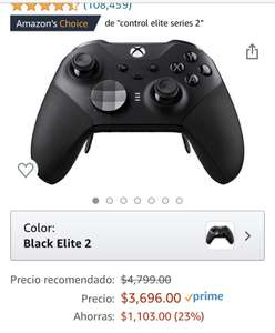 Amazon: Control Xbox elite series 2