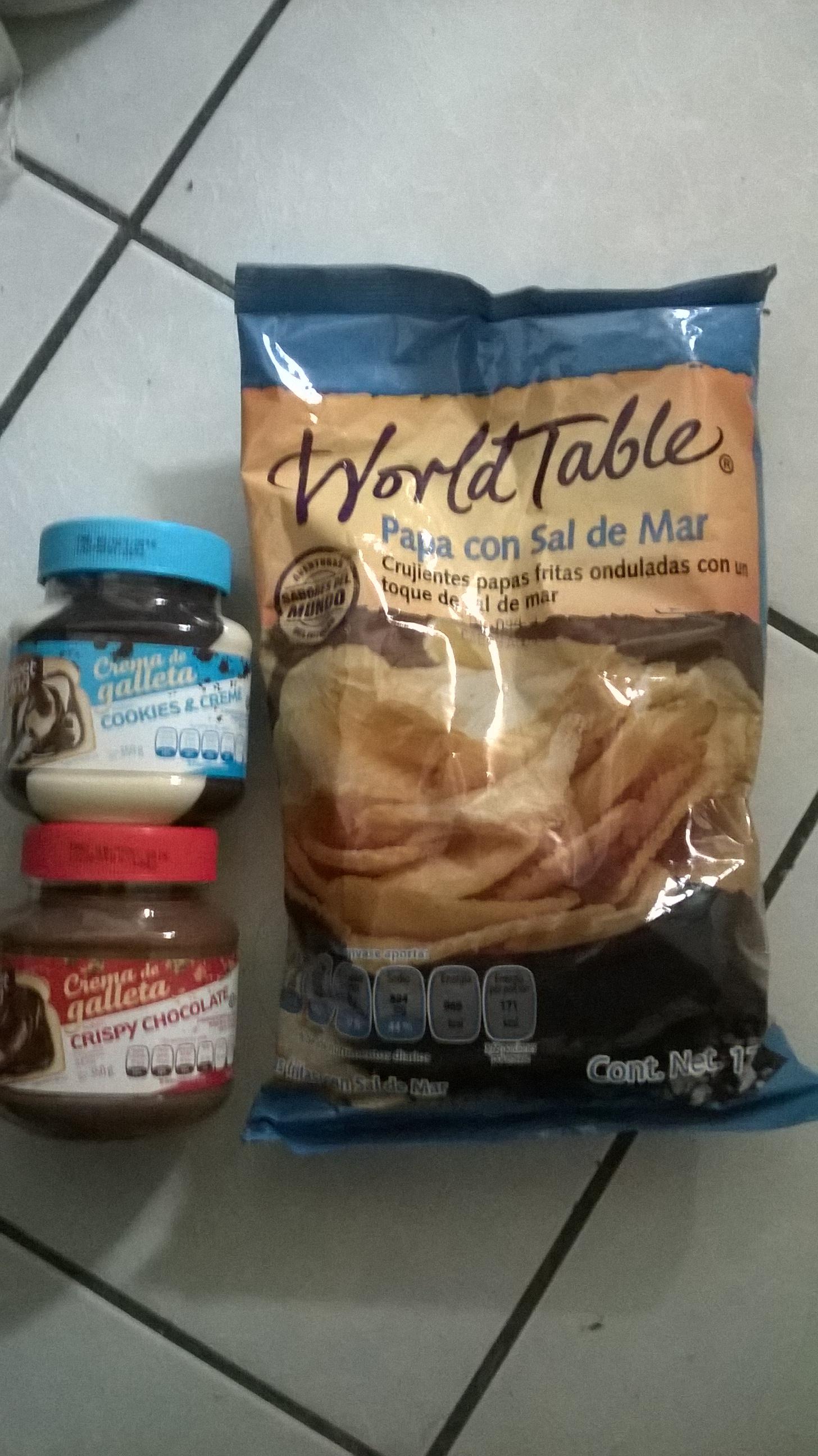 Walmart Loma Dorada: papas y untables para galletas en oferta