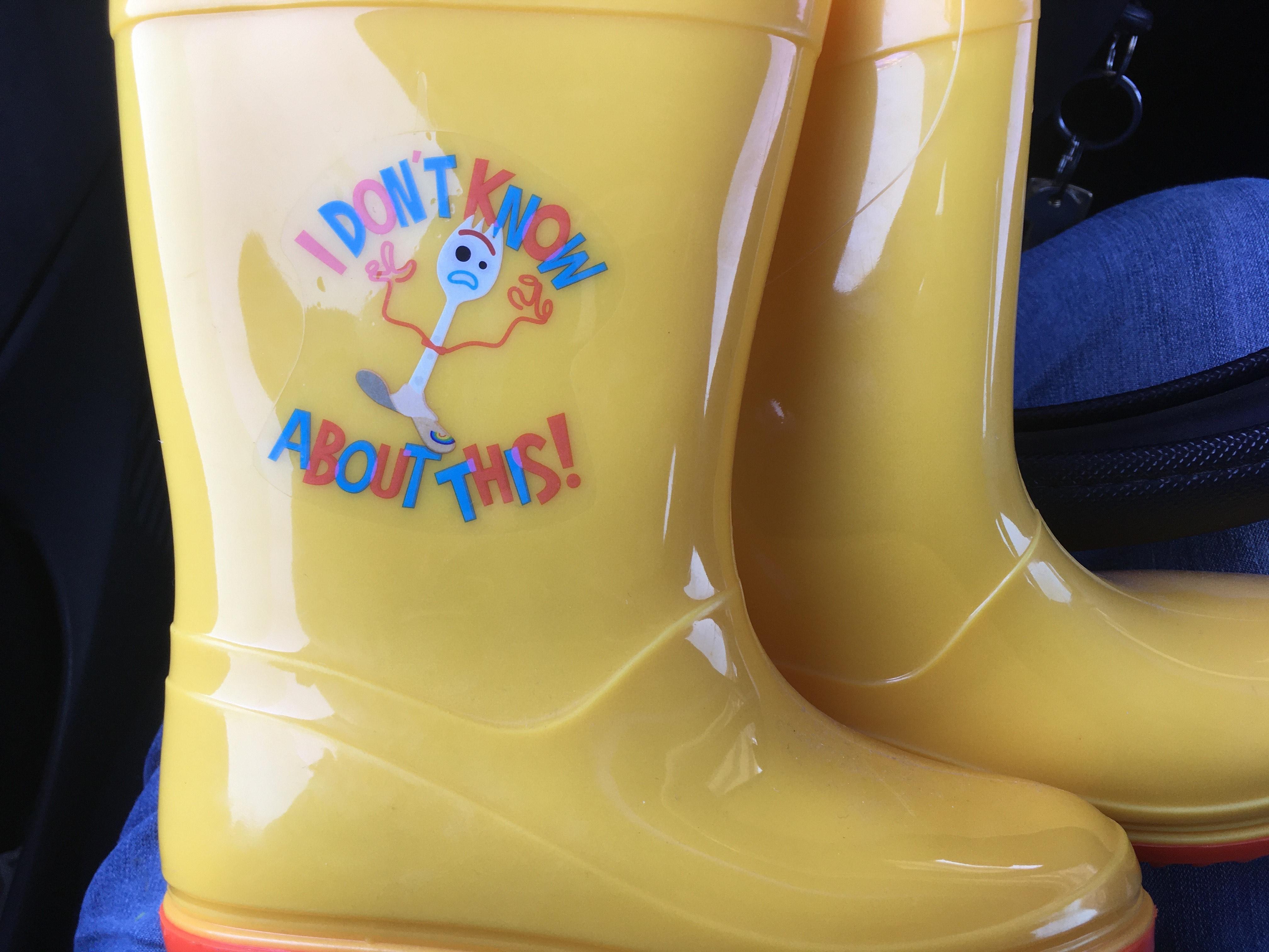 Bodega Aurrerá botas de lluvia