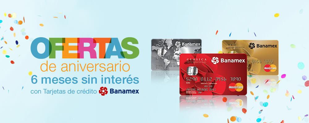 Promoción de Aniversario en Amazon México: 6 MSI en compras de Amazon EE.UU. o Terceros con Banamex