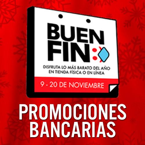 Recopilación de promociones bancarias del Buen Fin 2020