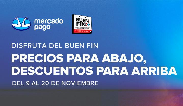 BuenFin en Mercado Pago : 10% de descuento adicional en Tiendas (Nov 9 - 20)