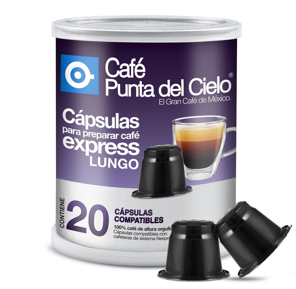 Amazon: Café Punta del Cielo Cápsulas Compatibles sistema Nespresso, 20 Cápsulas