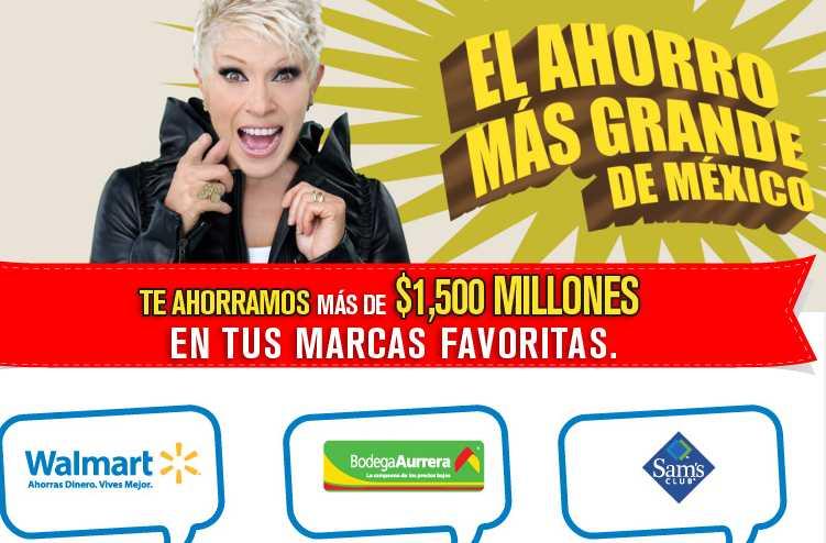 El ahorro más grande de México en Walmart, Sam's Club y Bodega Aurrerá
