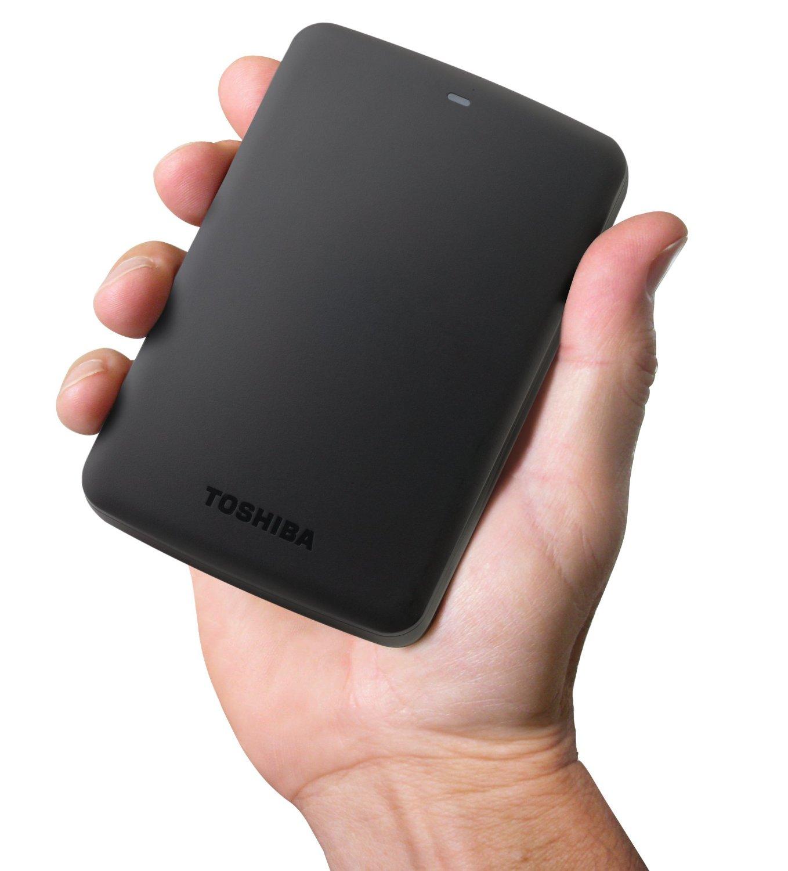Amazon: Disco Duro Portátil Toshiba de 3TB a $2371 ($2015 con AMEX)