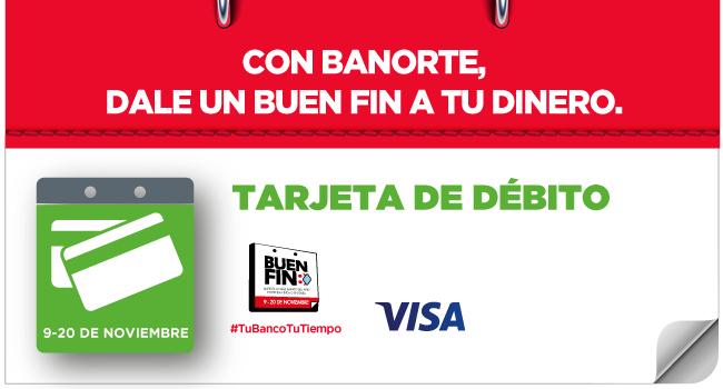 Banorte: Compra, acumula y ganacon tuTarjeta de Débito