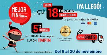 Tienda Mabe: 5% adicional, envío gratis y hasta 18 meses sin intereses