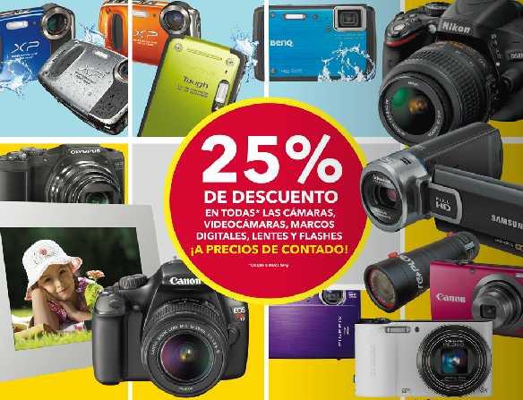 Best Buy: 25% de descuento en todas las cámaras, 30% en películas Blu-ray y más