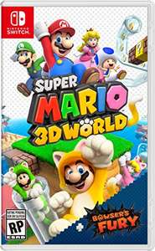 Amazon: Super Mario 3D World + Bowser's Fury - Nintendo Switch