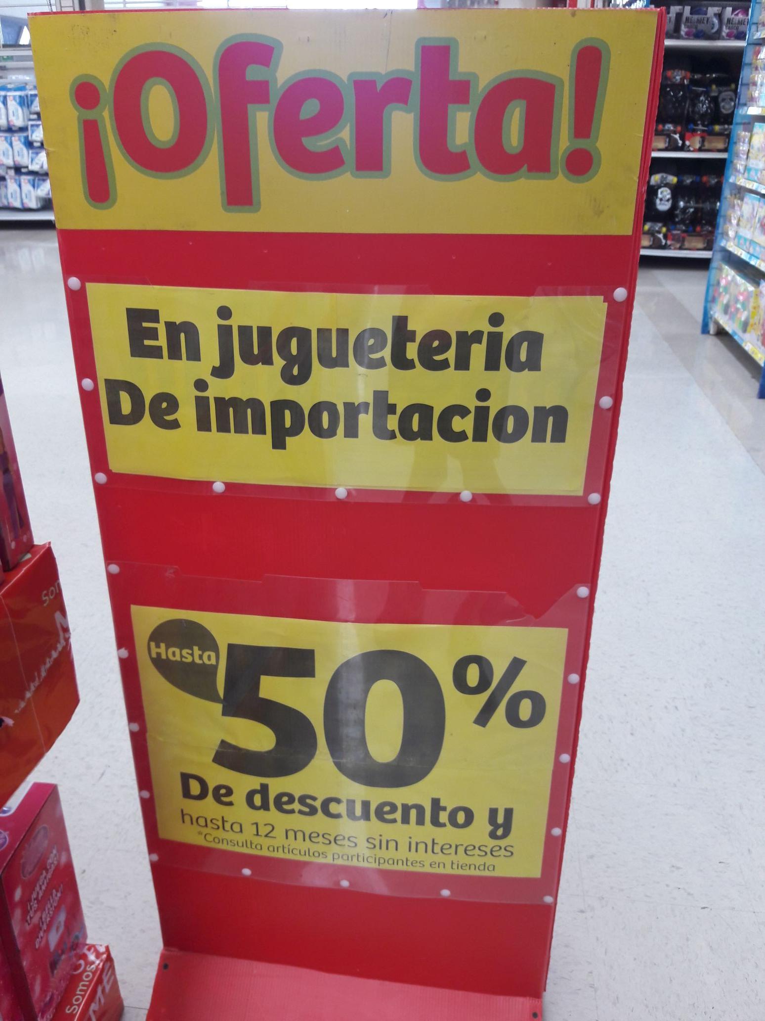 Soriana: 50% de descuento en juguetes de importación