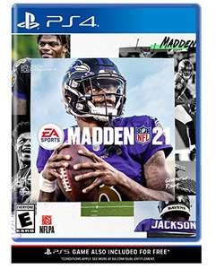 Amazon: Madden NFL 21 - PlayStation 4 - Standard Edition