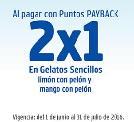 Neve Gelato: 2x1 en gelatos de verano con Payback