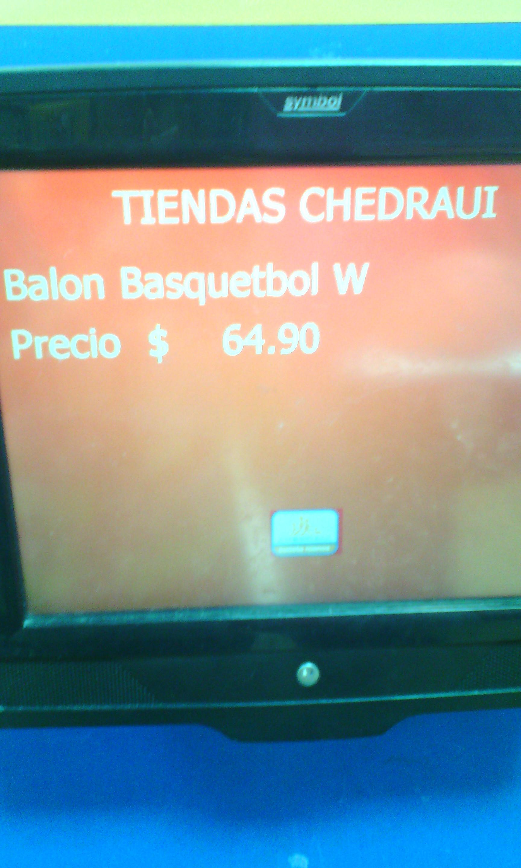 Chedraui: Balon Basquetbol Wilson No. 7 HyperShot
