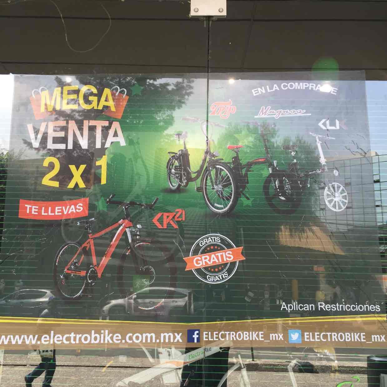 Electrobike: compra una bici eléctrica y de regalo una bici cr21