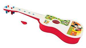 Amazon Mx: Disney Mickey Mouse, Guitarra (111 cms) $56 y Trompeta (94 cms) a $28