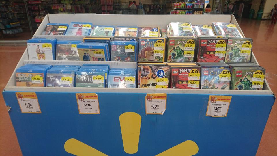 Walmart: películas Blu-ray varios títulos desde $15.01