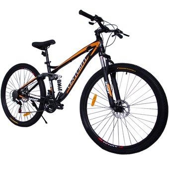 Linio: Bicicleta Aluminio R29 21 Velocidades Centurfit Naranja Shimano