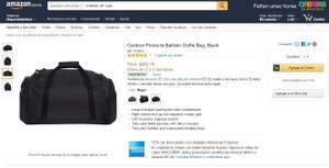 Amazon: Bolsa de viaje (GYM) color negro a $263
