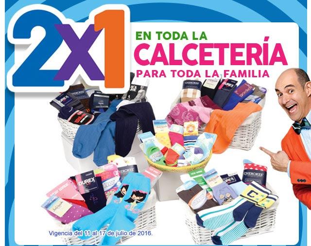 Julio Regalado en Soriana y Comercial Mexicana: 2x1 en calcetería para toda la familia