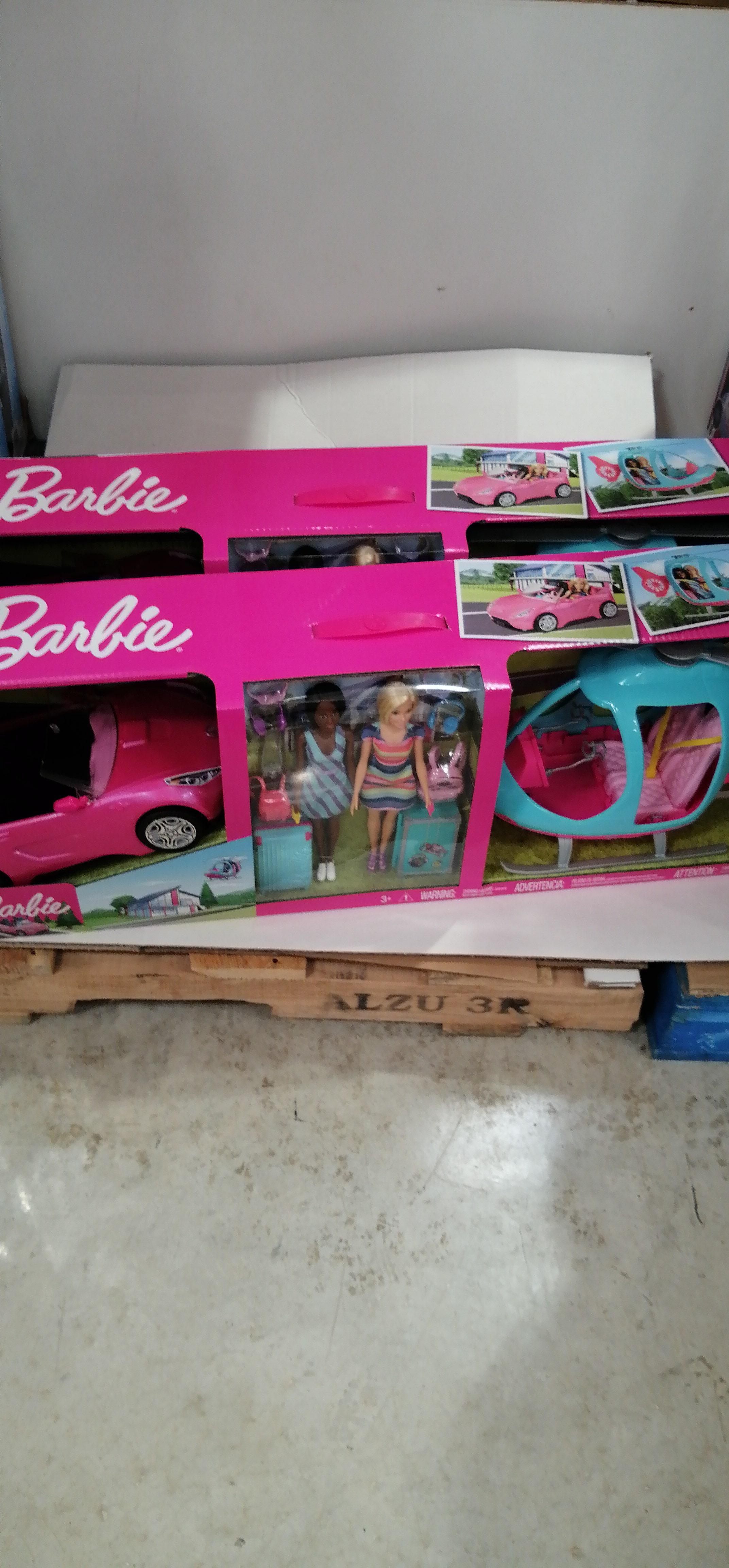 Costco: Barbie helicóptero y coche a 999