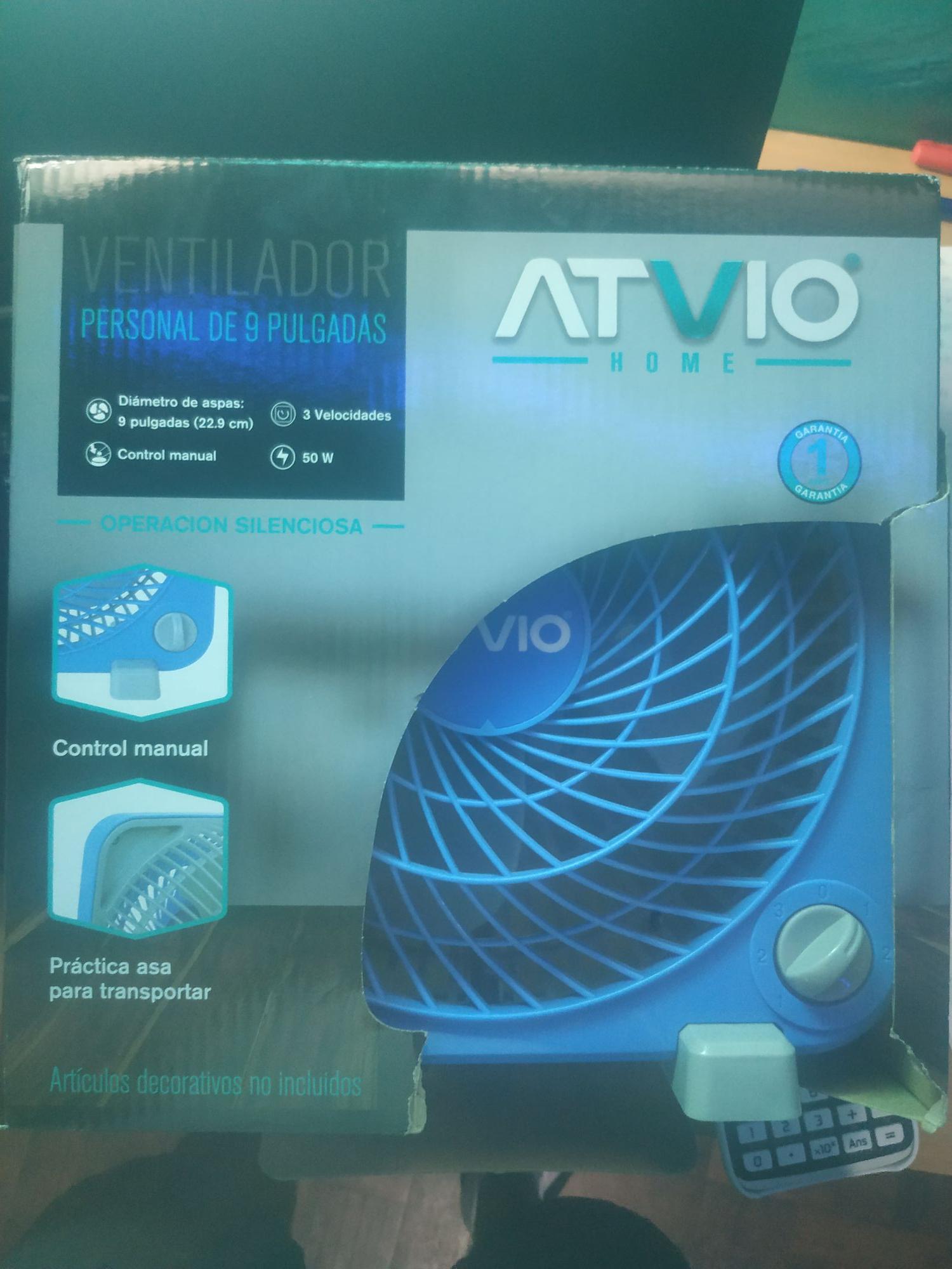 """Walmart Portal Tlalnepantla: Ventilador Atvio 9"""" y más"""