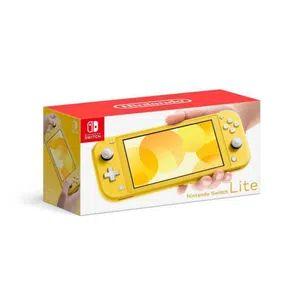 Elektra:Consola Nintendo Switch Lite 32GB Amarillo (Crédito Elektra)