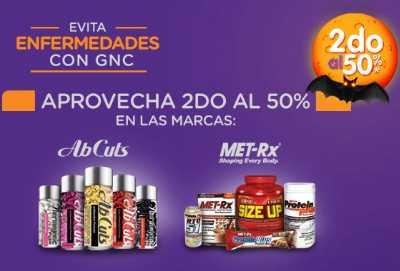 GNC: 50% de descuento en el segundo de vitaminas, proteína y más