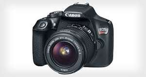 Amazon Mx: Canon Rebel T6 kit con lente  EF-S 18-55mm