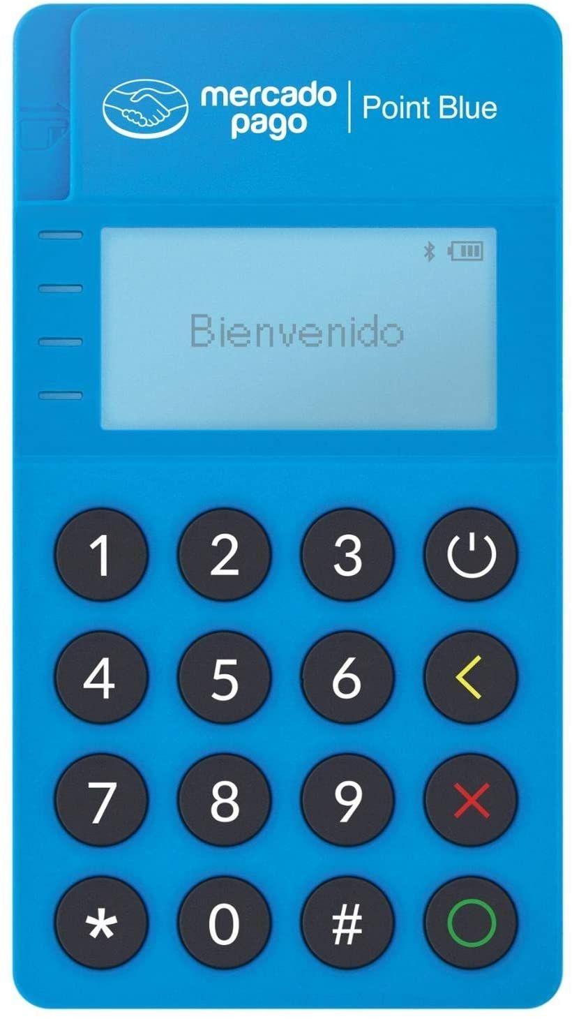 AMAZON: Point Blue Lector de tarjetas de. Mercado pago