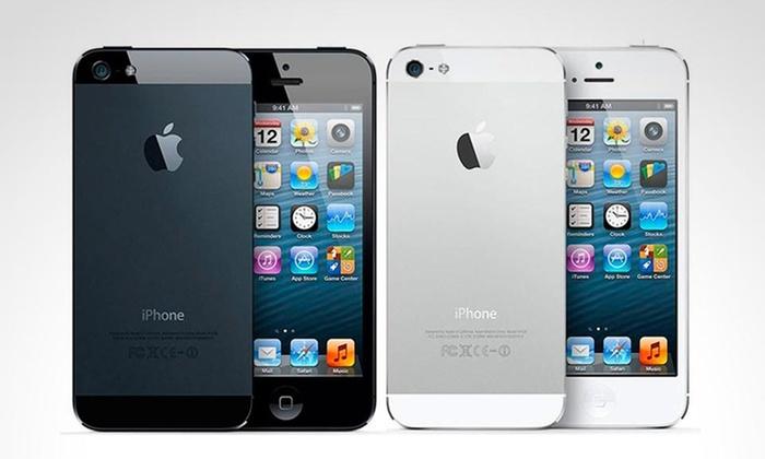 Groupon: iPhone 5 16gb liberado reacondicionado a $3,599, incluye envío y un keyboard wireless de regalo
