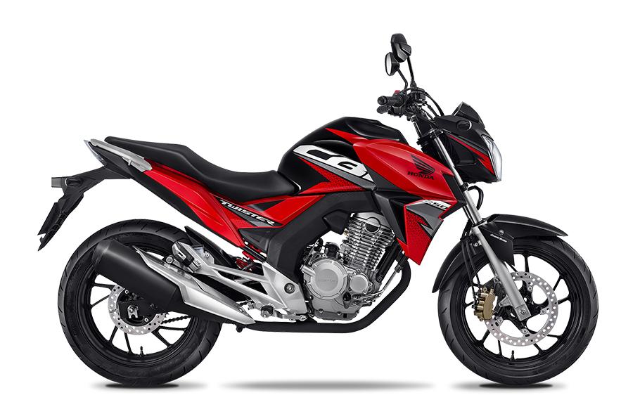 Honda: CB250 TWISTER: 10,000 pesos de descuento (mod. 2018)